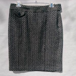 Ann Taylor Herringbone Skirt